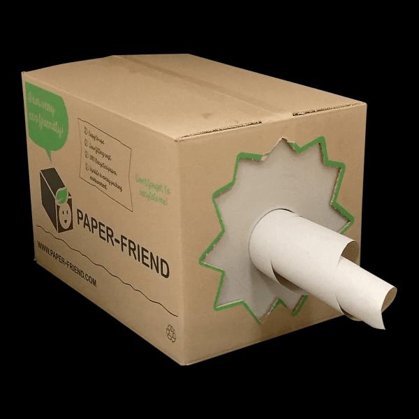 opvulpapier in handige dispenserdoos