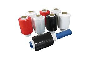 Rekfolie minirollen assortiment uitgebreid met rollen in zwart, rood en wit