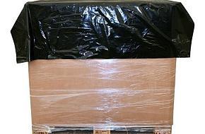 Topvellen zijn de ideale bescherming van uw goederen tijdens transport op pallets
