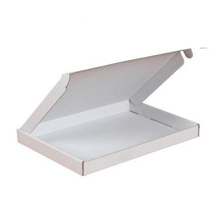 Brievenbusdoos 22x15,5x3cm (A5) wit