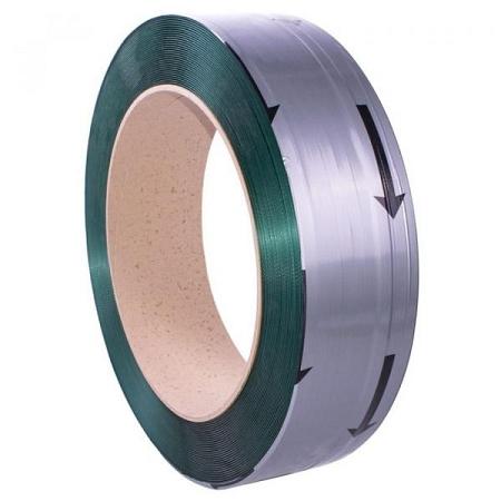 PET omsnoeringsband 12,5mm x 2300m x 0,7mm groen