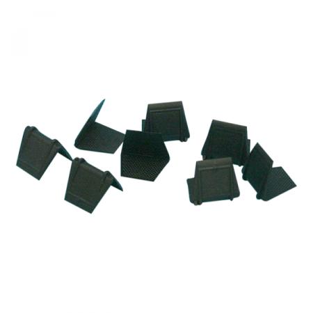 Beschermhoek kunststof zwart 35mm x 24mm