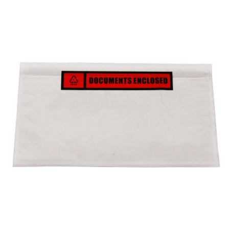 Paklijstenveloppen A8 225x122mm Documents Enclosed